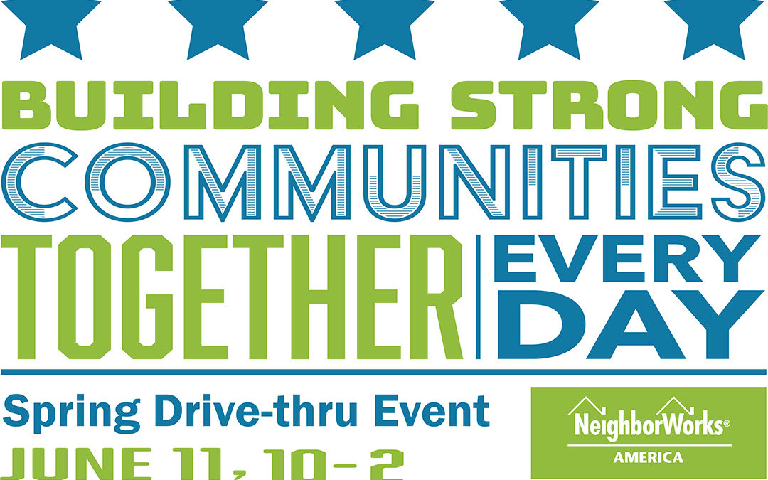 No-Contact Drive Thru Event for NeighborWorks Week 2020